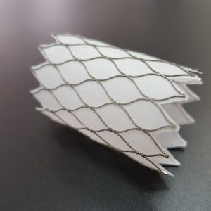 Nitinol Dacron covered frame Ø 28 [mm]
